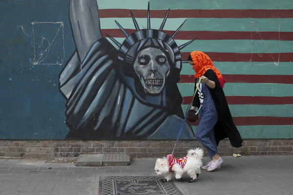 Teheránska ulica.