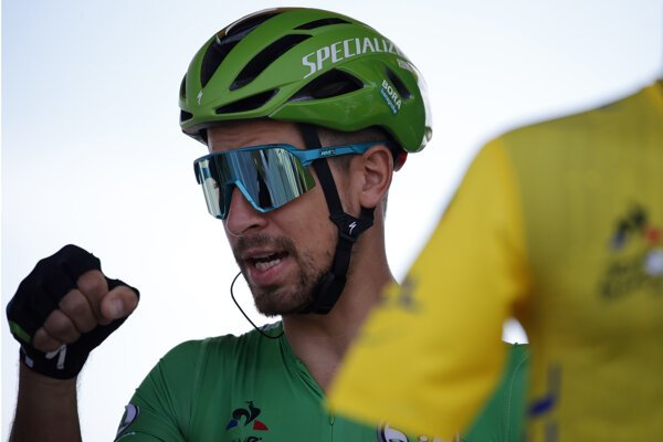 Peter Sagan v 4. etape Tour de France 2019.