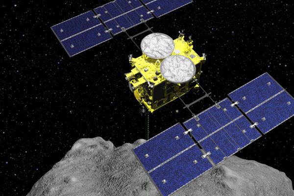Sonda Hajabusa 2 bola vypustená 3. decembra 2014 z kozmodrómu Tanegašima.