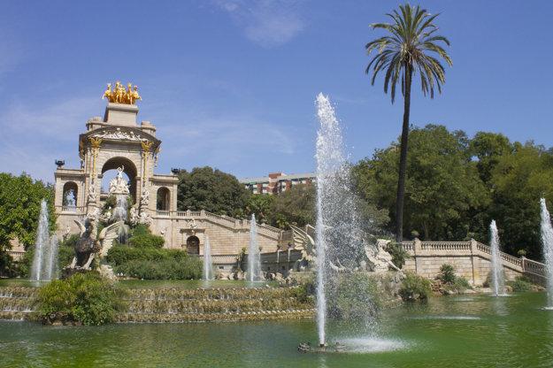 K najromantickejším miestam Barcelony patrí Parc De La Ciutadella.