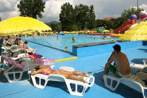Plážové kúpalisko v Banskej Bystrici.
