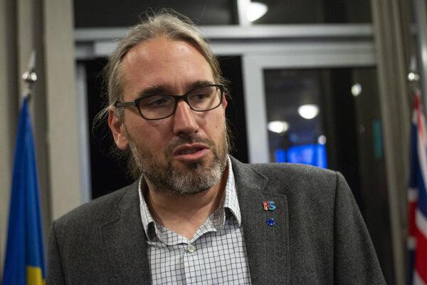 Europoslanec Martin Hojsík.