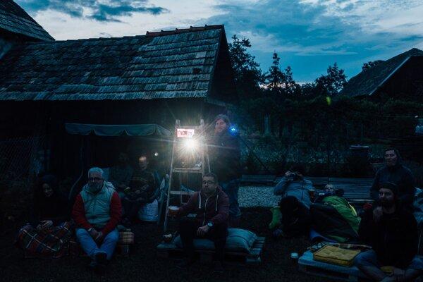 Letné Filmové Dvory zavítali aj tento rok na vidiek.