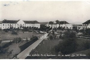 Štátna nemocnica v Košiciach.