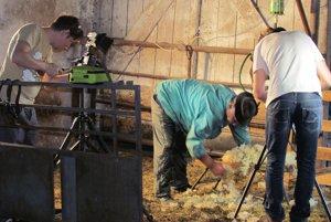 Natáčanie filmu Od ovečky po gubu
