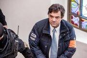 Marian Kočner prichádza 20. decembra 2018 na Špecializovaný trestný súd v Banskej Bystrici.