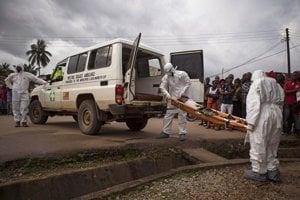 Ebola zabila takmer tritisíc ľudí.