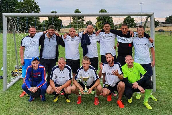 Turnaj v Šalgočke vyhralo mužstvo Ruská presilovka.