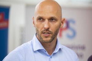 Líder koalície Progresívneho Slovensko a Spolu Michal Truban.