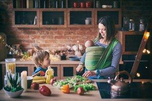 Vyvážený jedálniček zníži riziko cukrovky 2. typu u matky, aj u detí.