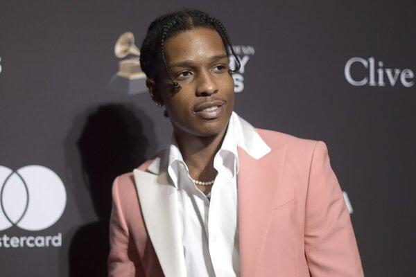 Americký rapper A$AP Rocky