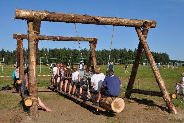 V tábore si deti užijú rôzne zaujímavé aktivity.