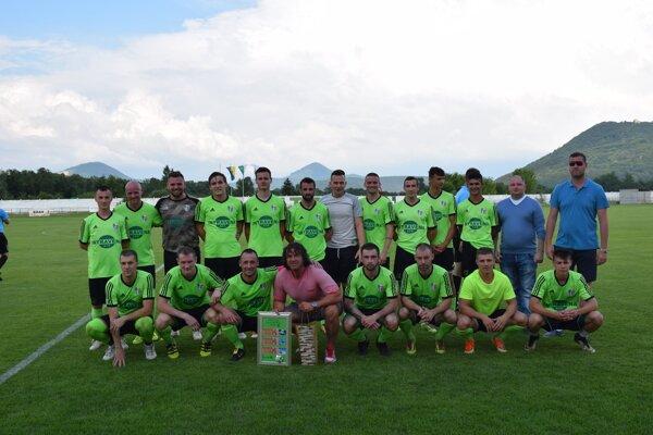 Futbalisti Šarišských Michalian.