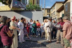 Návštevníci sa dozvedeli mnoho o histórii predmestskej časti.