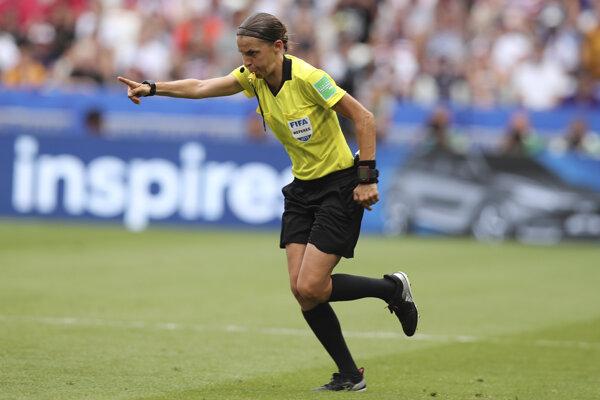Stephanie Frappartová počas finále MS žien vo futbale 2019.