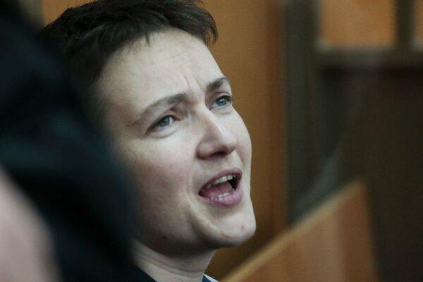 Ukrajina, západoeurópske krajiny a Spojené štáty vyzývajú Rusko na prepustenie Savčenkovej.