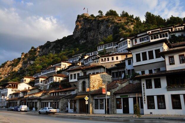 Berat je mestom plným osmanských domov