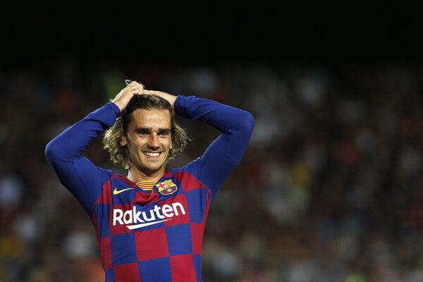 Griezmann sa pripravuje na sezónu v drese Barcelony.
