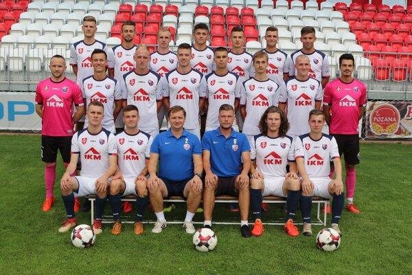 Káder MFK Zvolen pred štartom novej sezóny 2019/2020.