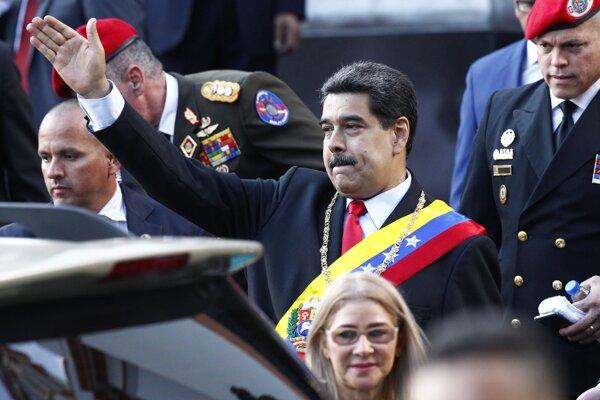 Prezident Venezuely Nicolas Maduro.