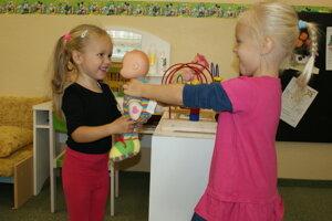Aj deti učia, aby vedeli obdarovať iných.
