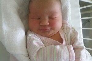 Diana Mišíková (3630 g a 51 cm) sa narodila 13. júla Simone a Tomášovi z Lednických Rovní.