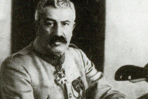 Francúzsky generál Maurice Janin, vrchný veliteľ česko-slovenského zahraničného vojska.