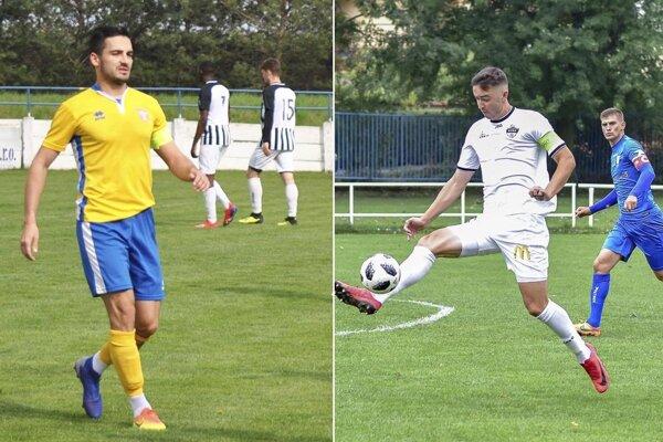 Dávid Hamar (Vráble) a Marek Fábry (FC Nitra jun.) sa v nedeľu zapísali do streleckej listiny.