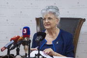 Predsedníčka Najvyššieho súdu Slovenskej republiky Daniela Švecová.