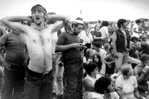 Účastníci Woodstocku.