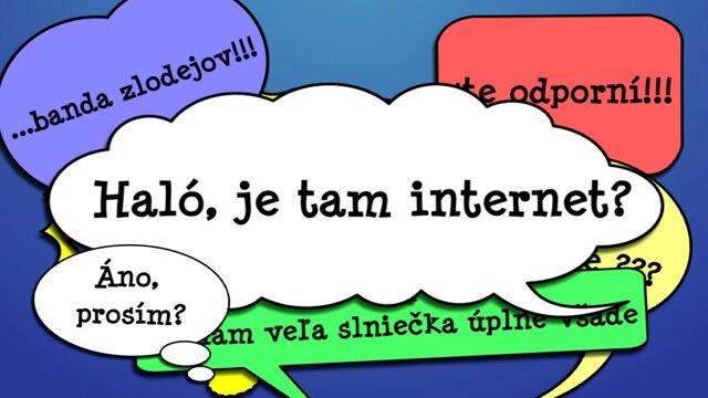 Haló, je tam internet? Problém s heslom
