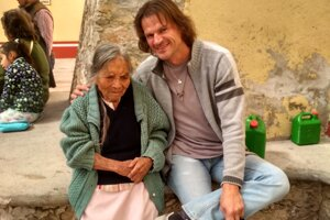 So svojou indiánskou babkou v Tepeace.