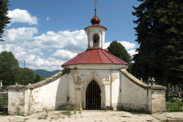 Kaplnka v Nitrianskom Pravne.