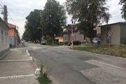 Kukučínova ulica pred obnovou