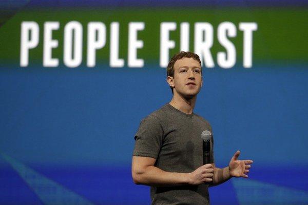 Spoluzakladateľ Facebooku Mark Zuckerberg.