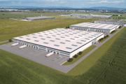 Vizualizácia nového priemyselného parku v Košiciach.