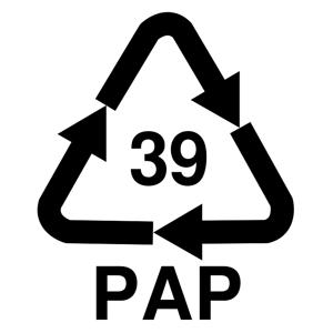 Recyklačná značka pre ostatný papier
