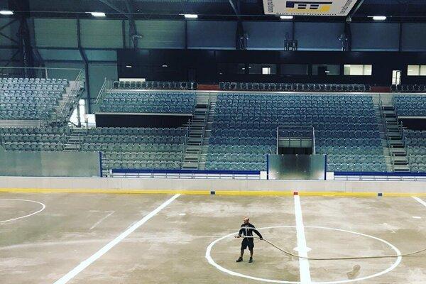 Hokejový štadión v Žiari otvoria už v piatok.