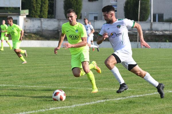 Dva góly zaznamenali Ivanko Macej i Hirka (vpravo). Ten ich má celkovo na konte už osem.