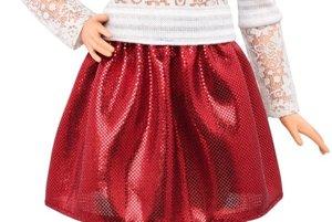 Nízka bábika Barbie Fashionistas