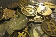 Virtuálna mena Bitcoin.