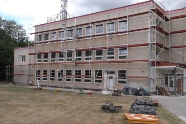Ilustračná foto: MŠ Milošová počas rekonštrukcie