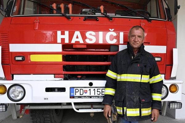 Bývalý dobrovoľný hasič Igor Baroš.