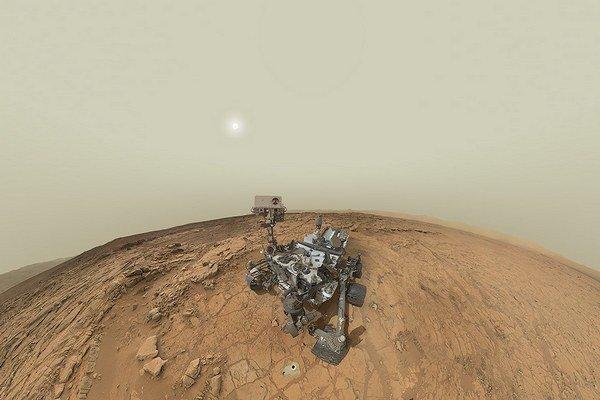 Curiosity ešte nedoputovalo do cieľa a už dokázalo,že na Marse boli podmienky vhodné na život.