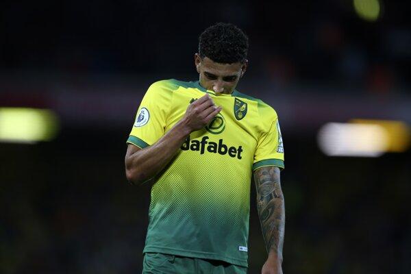 Ben Godfrey z FC Norwich City - ilustračná fotografia.
