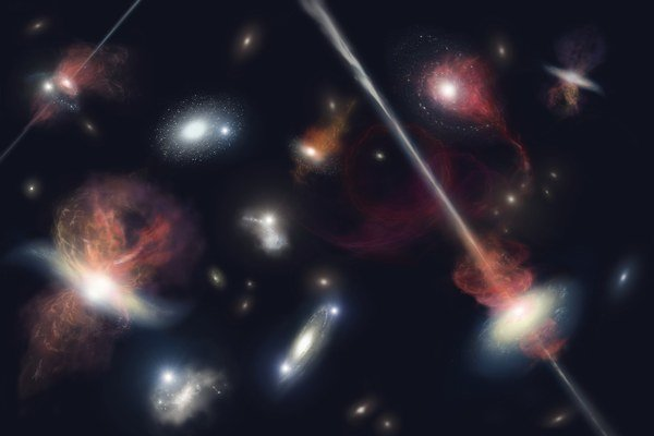 Pred miliardami rokov bývali extrémne úkazy vo vesmíre častejšie.