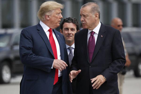 Trump a Erdogan.