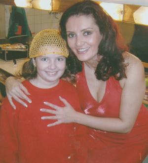 s dcérkou dominikou