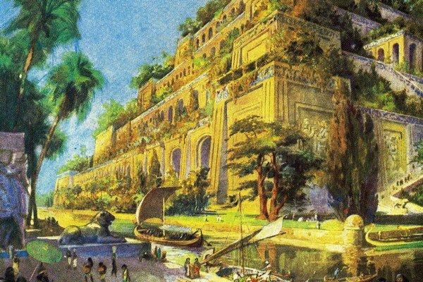Bájne Visuté záhrady mali byť podľa legiend v Babylone.