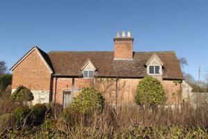 Skutočný rodný dom Shakespearovej mamy.